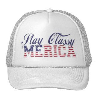 Stay Classy 'MERICA Hat