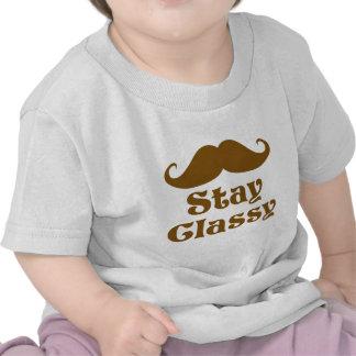 Stay Classy Mustache T Shirts