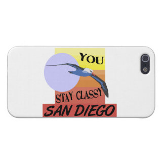 Stay Classy San Diego Cover For iPhone SE/5/5s
