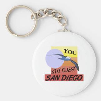 Stay Classy San Diego Keychain