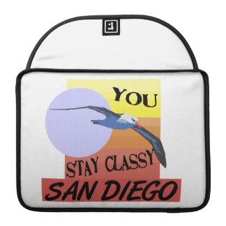 Stay Classy San Diego MacBook Pro Sleeve