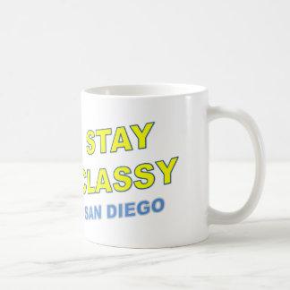 Stay Classy San Diego Mugs