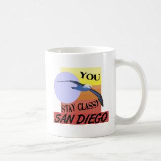 Stay Classy San Diego Coffee Mug