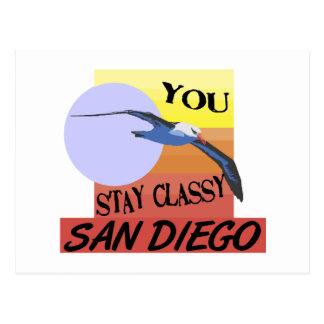 Stay Classy San Diego Postcard