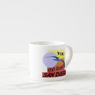 Stay Classy San Diego Espresso Cup