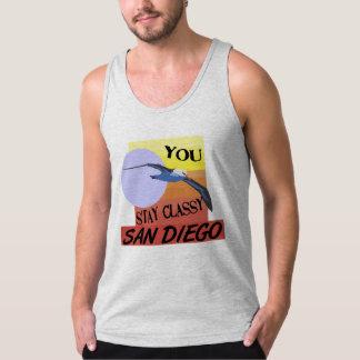Stay Classy San Diego Tank Top