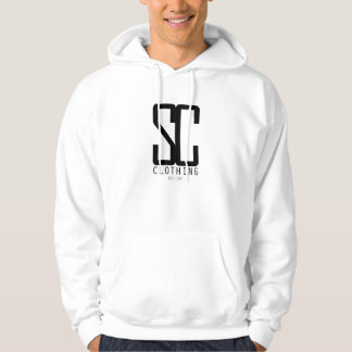 Stay Classy White Hoodie
