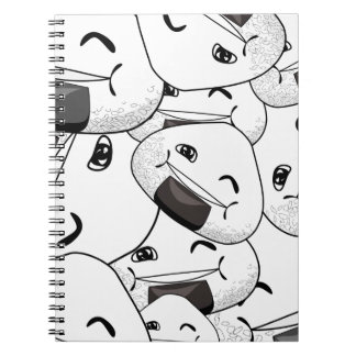 Stay close to me - Happy Spiral Notebook