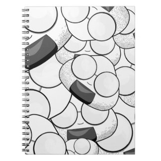 Stay close to me - Nerd Spiral Notebook