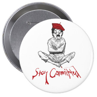 Stay Committed Painter Button
