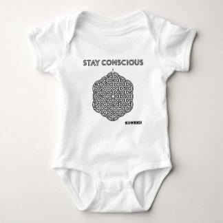 STAY CONSCIOUS MAZE shirt