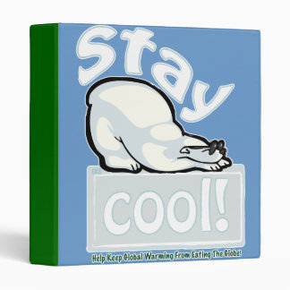 Stay Cool! 3 Ring Binder