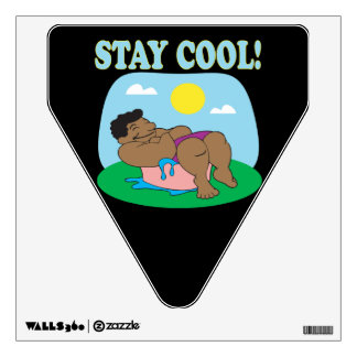 Stay Cool 3 Wall Decal