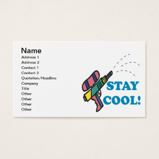 Stay Cool Business Card