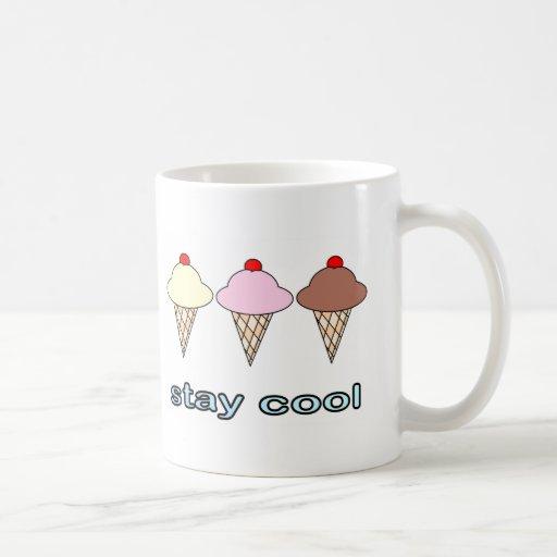 Stay Cool Coffee Mugs Zazzle