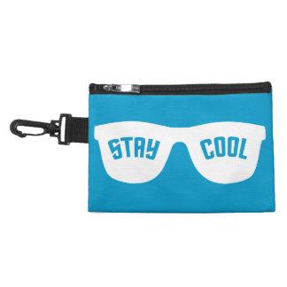 STAY COOL custom accessory / cosmetics bags