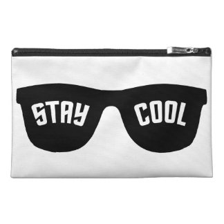 STAY COOL custom cosmetic / accessory bags