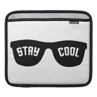 STAY COOL custom laptop / iPad sleeve