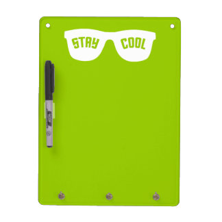 STAY COOL custom message board