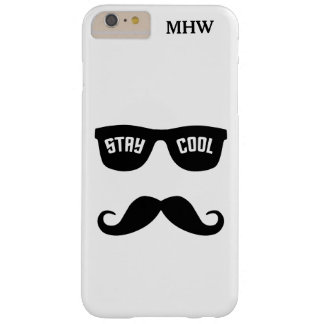 STAY COOL custom monogram phone cases Barely There iPhone 6 Plus Case