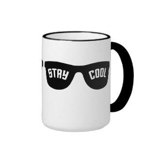STAY COOL custom mug  - choose style & color