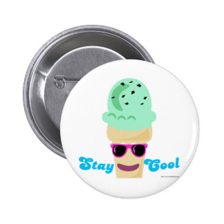 Stay Cool Ice Cream Button