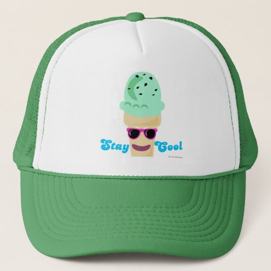 Stay Cool Ice Cream Trucker Hat