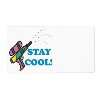 Stay Cool Label