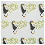 Stay Cool Penguin Fabric
