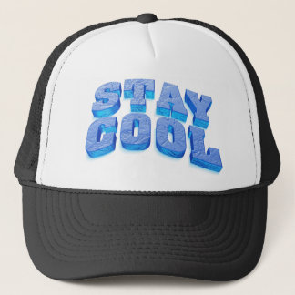 stay coolly ice cube styles font trucker hat