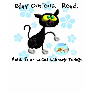 Stay Curious. Read. shirt