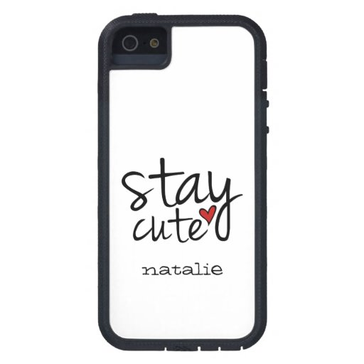 Stay Cute iPhone 5 Tough Xtreme Case iPhone 5 Cases