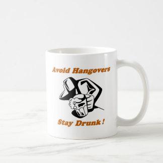 Stay Drunk Full Coffee Mug