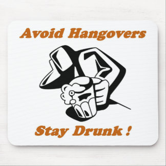Stay Drunk Full Mouse Pad