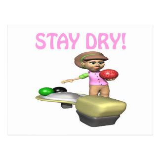 Stay Dry Postcard