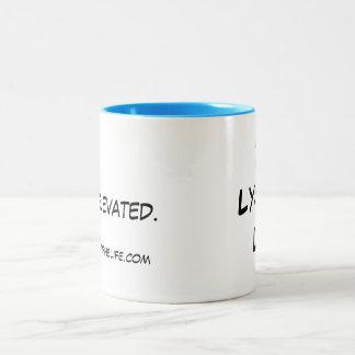 Stay Elevated 11oz Two-Tone Mug