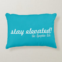 "Stay Elevated Brushed Polyester Pillow 16"" x 12"""