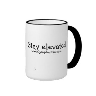 Stay Elevated Butterfly Mug