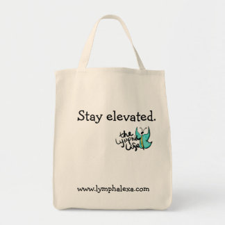 Stay Elevated Butterfly Tote Bag