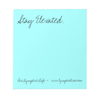Stay Elevated Note Pad