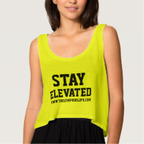 Stay Elevated Sporty Tank