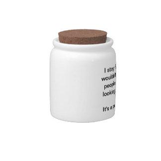 Stay fat jar candy jars