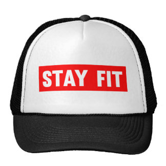 Stay Fit Mesh Hats