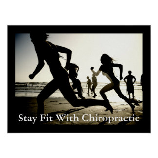 Stay Fit With Chiropractic Office Poster Customize