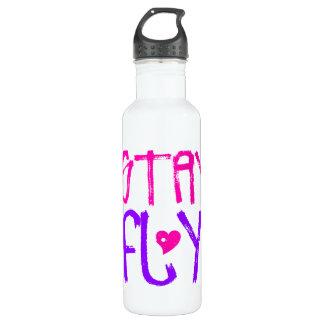 Stay Fly retro 90s slang 24oz Water Bottle