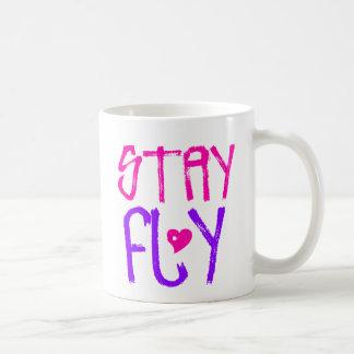 Stay Fly retro 90s slang Mug