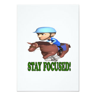 Stay Focused Card
