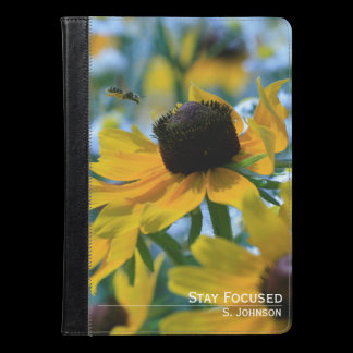 Stay Focused Daisies Custom iPad Air Case