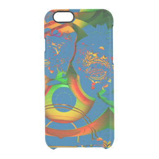 STAY FOCUSED MANDELBULB 3D. FRACTAL ART IMG UNCOMMON CLEARLY™ DEFLECTOR iPhone 6 CASE