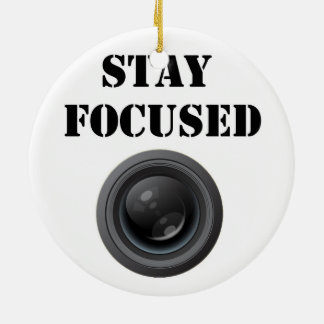 stay focused ornament